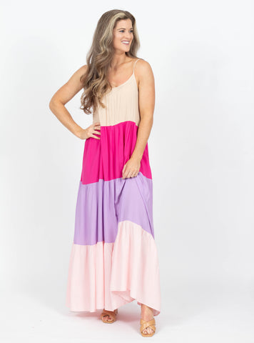 Say A Prayer Pink Maxi
