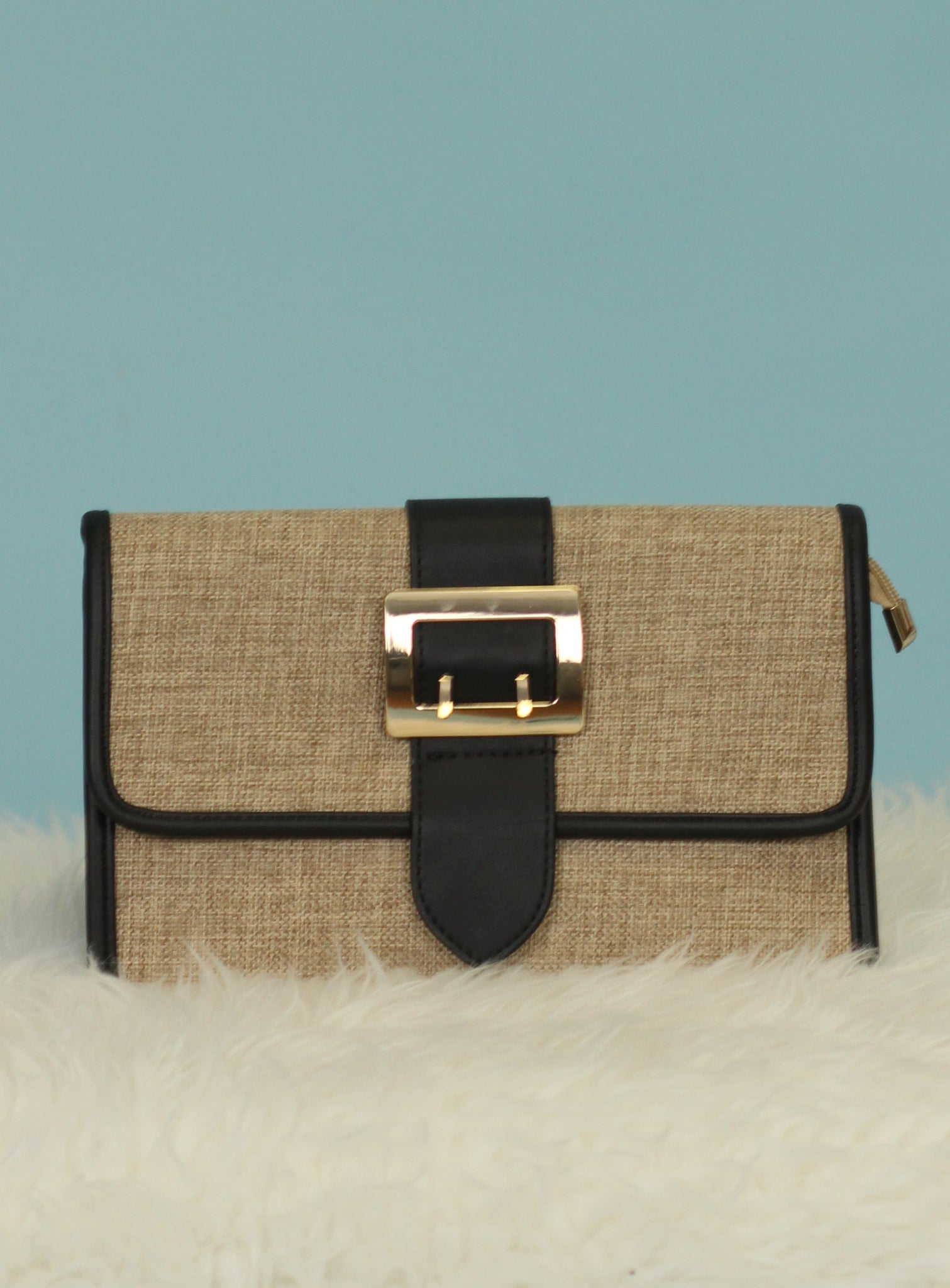 The Buckle Up Clutch