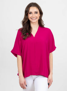 Pride and Joy Magenta Top