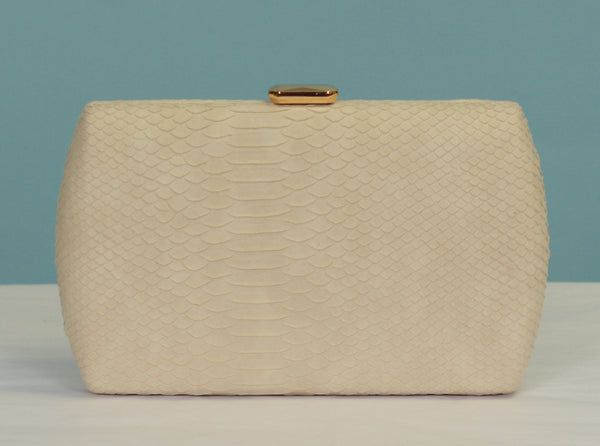 The Eloise Clutch - Ivory