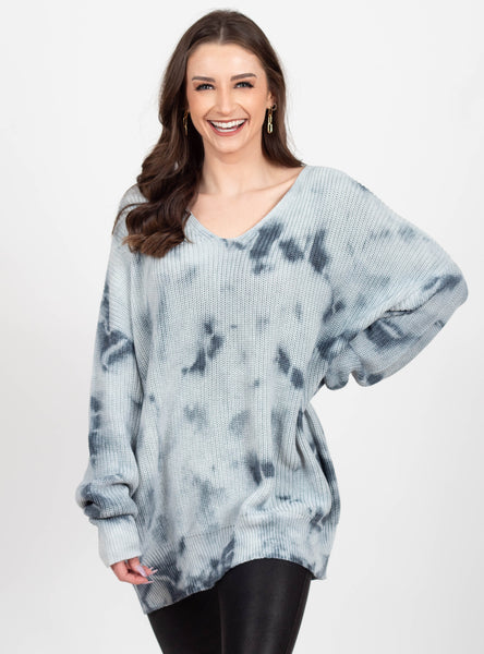 Find Your Groove Tie Dye Sweater
