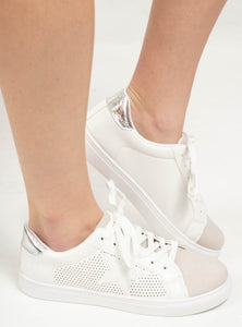 The Fast Lane Sneakers - Silver