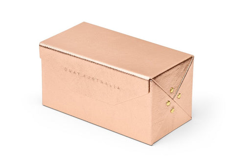 Four Piece Fold Up Case - Rose Gold