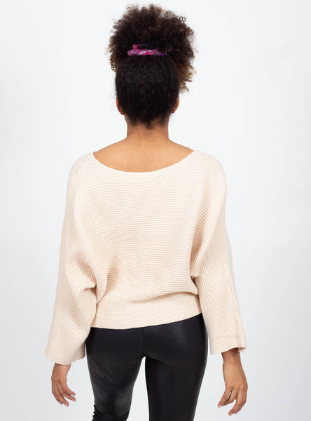 Into You Cream Sweater