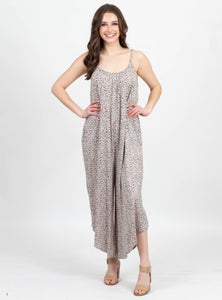 Circle of Life Leopard Jumpsuit by Z Supply