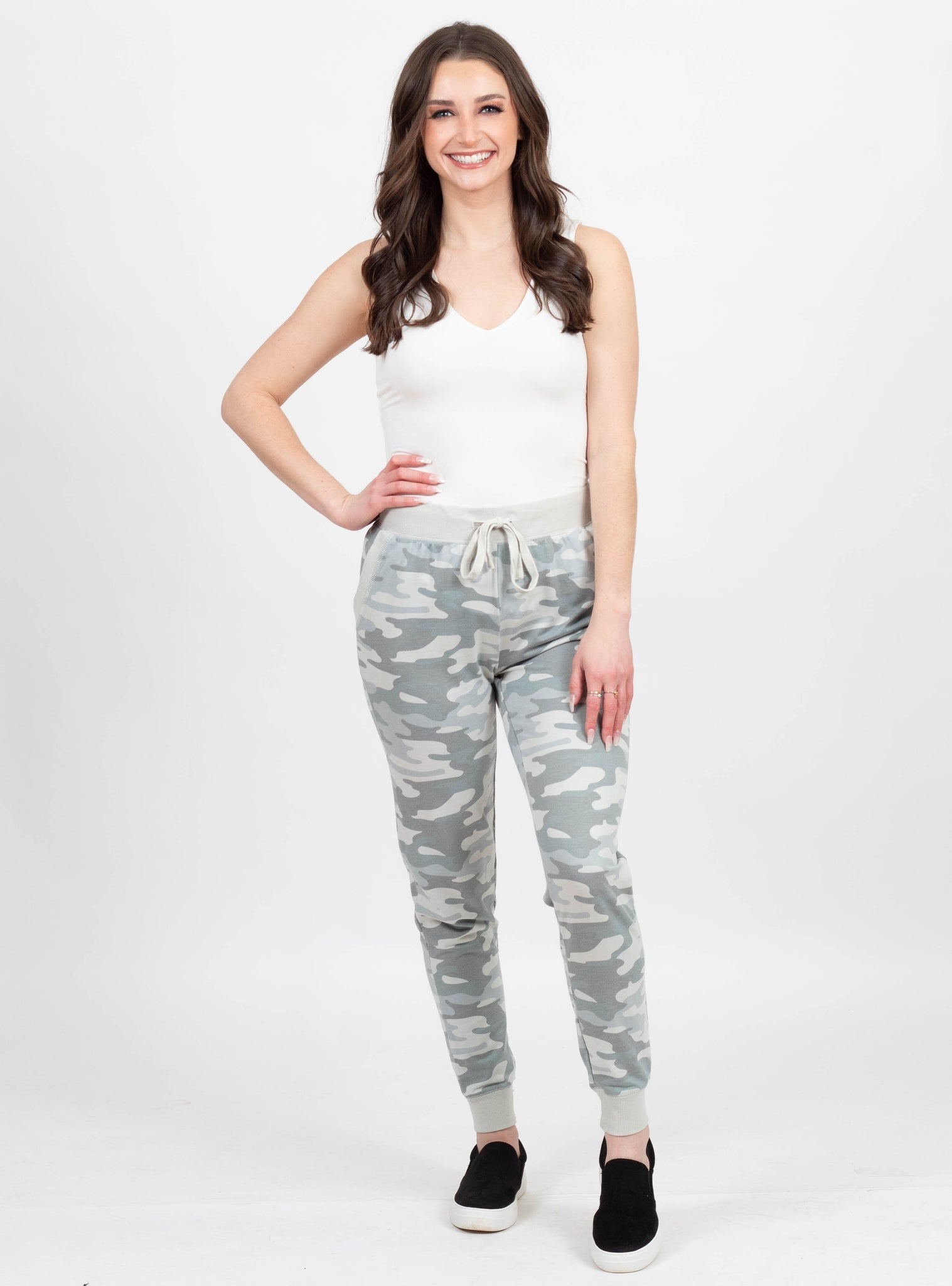 Truth Serum Sage Camo Joggers by Z Supply