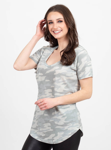 Last Chance Sage Camo Tee by Z Supply