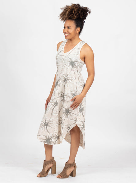 Shady Spot Coconut Palm Dress
