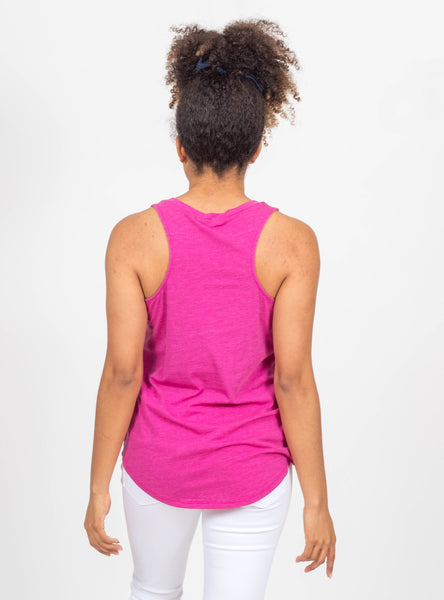 Let's Get Away Magenta Tank by Z Supply