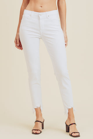 You & Me White Jeans