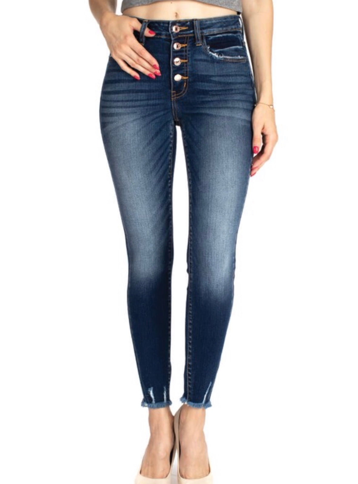 The San Diego Distressed Jean