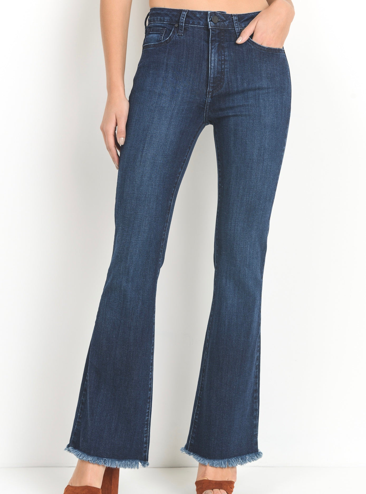 The Woodstock Fringe Flare Jean