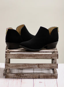 The Mafic Black Booties