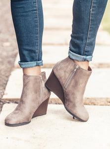 The Ability Booties - Taupe