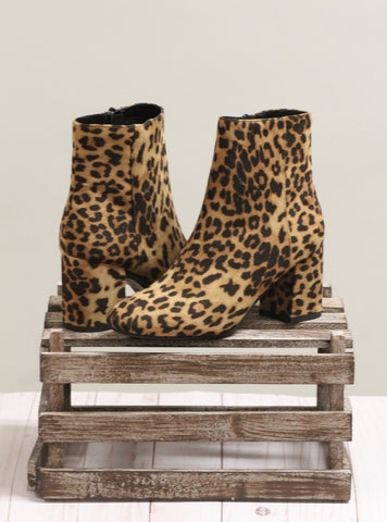 The Robson Booties - Cheetah