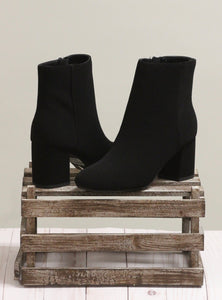 The Robson Booties - Black