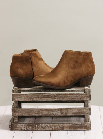 The Mug Booties - Cognac