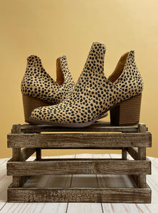 The Valentina Booties - Cheetah