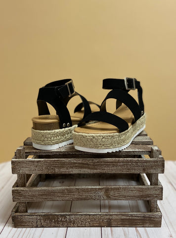 The Bryce Sandals - Black
