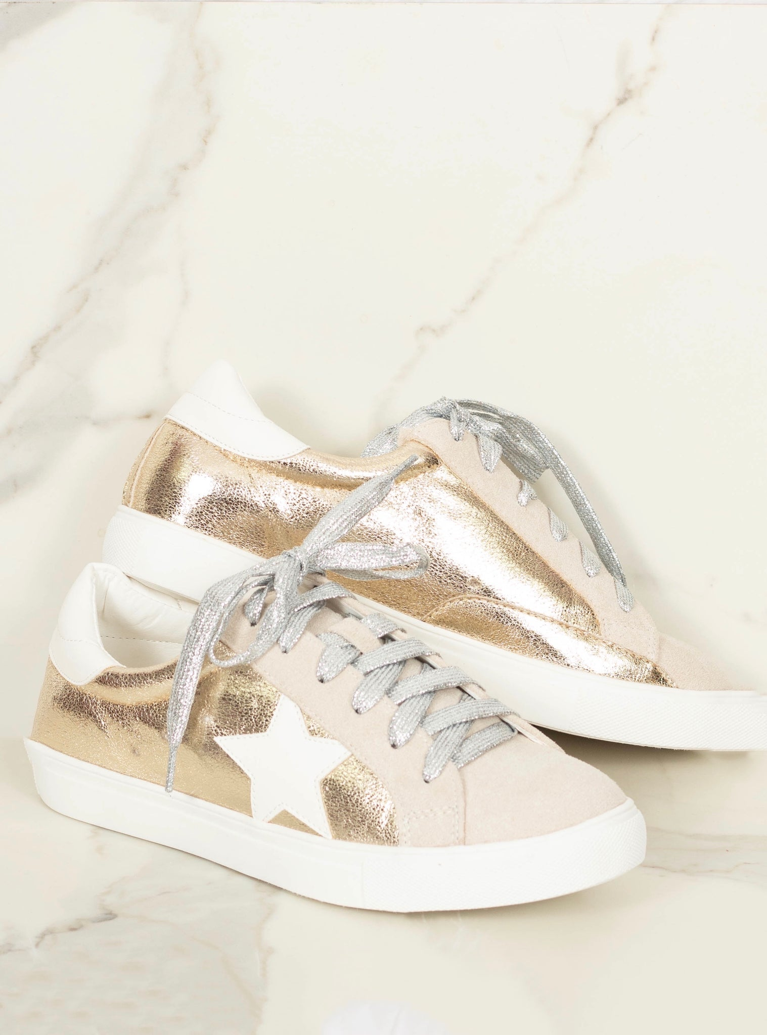 The Dale Sneakers - Gold