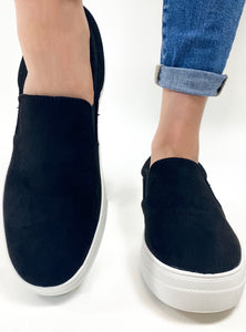 The Hike Slip On - Black
