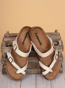 The Bork Sandals - Ivory