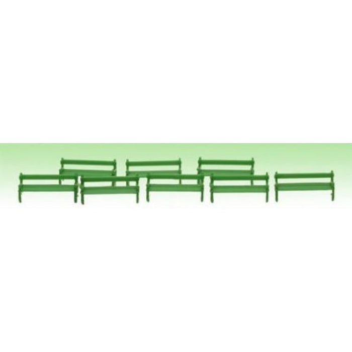 Model Power 1340 N Park Benches 8pc