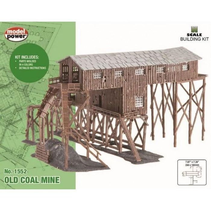 Model Power 1552 N Coal Mine Kit