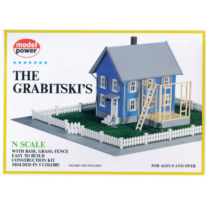 Model Power 1554 N The Grabitski's Building Kit