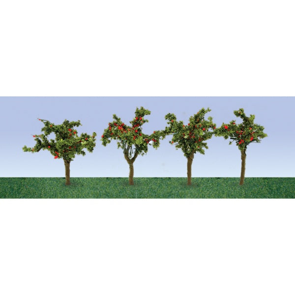 JTT 95517 HO Apple Saplings 12pc