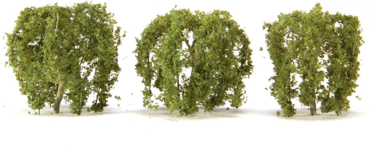 JTT 94268 Weeping Willow Trees 50mm 3pc