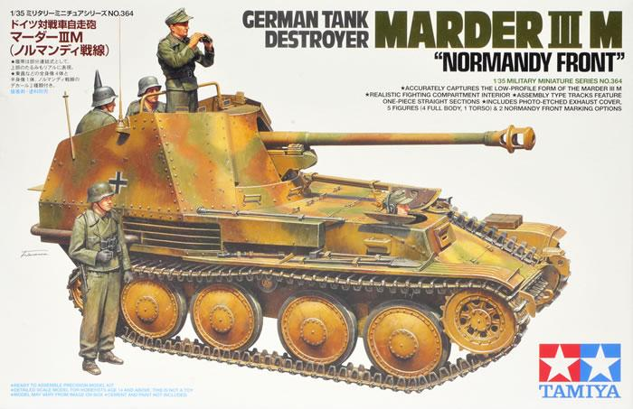 Tamiya 35364 1:35 Marder III M German Tank Destroyer