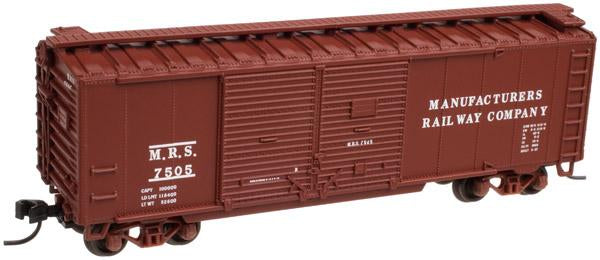 Atlas 50 001 278 N 40' Steel Double Door Box Car - Pennsylvania 67355 (Brown/White)