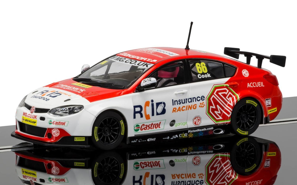 Scalextric C3863 BTCC MG6 Josh Cook No.66