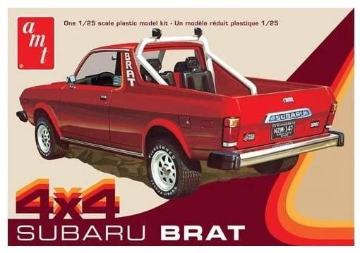 AMT 1128M 1:25 1978 Subaru Brat Pick up - 4X4