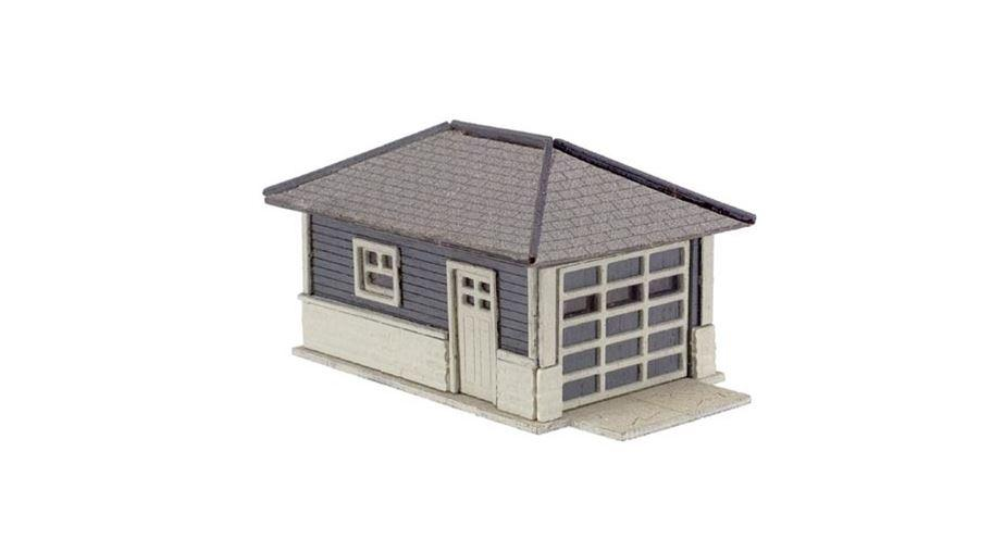 Atlas 2860 N Barbs Bungalow Garage Kit