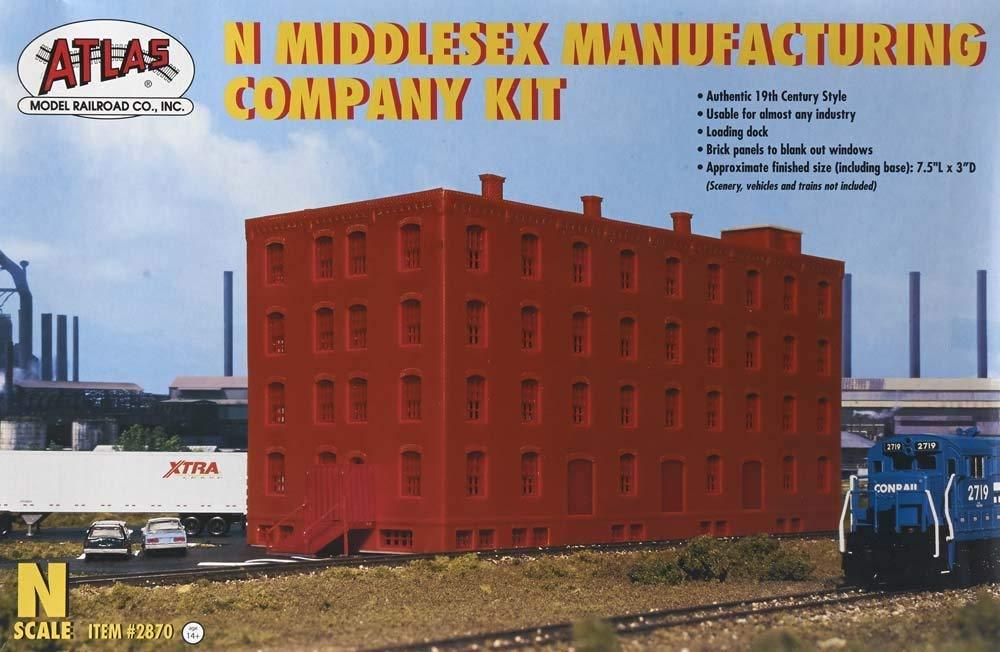 "Atlas 2870 N Middlesex Manufacturing Company Kit (base 7.5"" x 3"")"