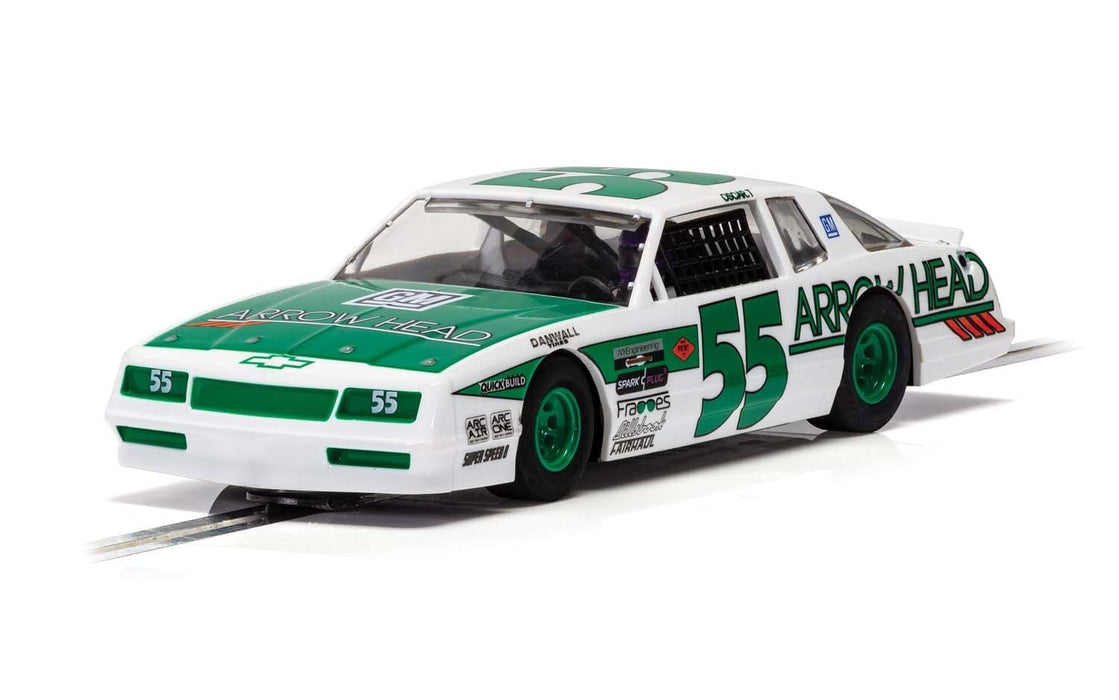 Scalextric C4079 Chevrolet Monte Carlo - Green & White No.55