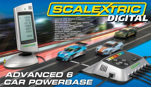 Scalextric C7042 Advanced 6 Car Powerbase