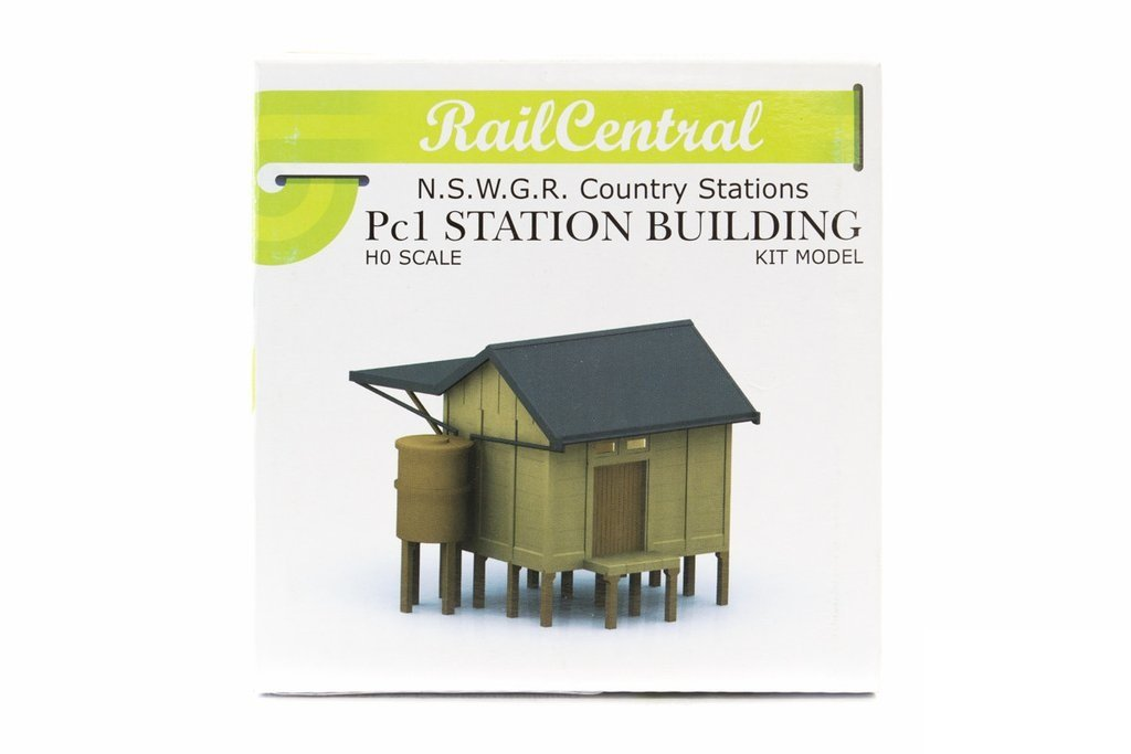 Rail Central RC1003K HO NSWGR Wayside Halt Country Station Kit PC1
