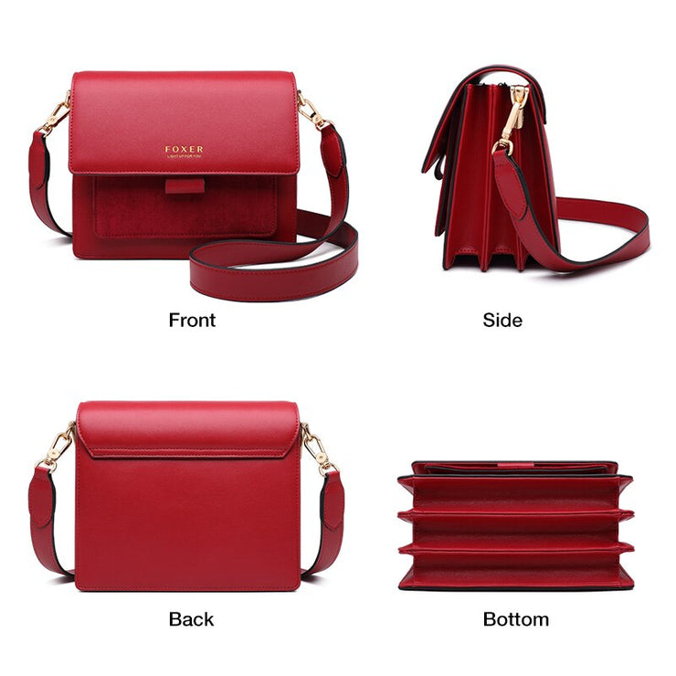 CROSSBODY FEMALE FASHION FLAP PURSE