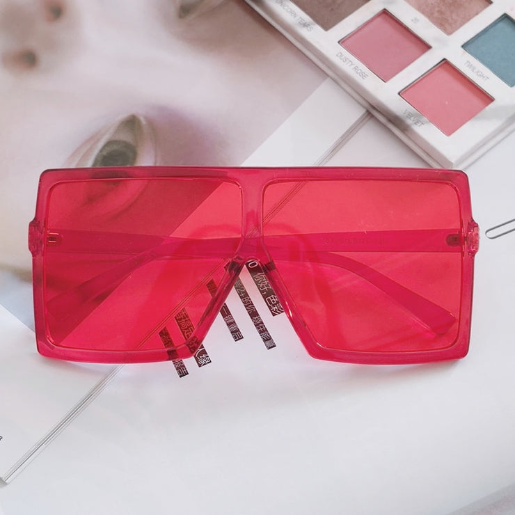 VINTAGE WOMEN FASHION SQUARE GOGGLES