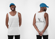 MEN VANITY LIT TANK WHITE