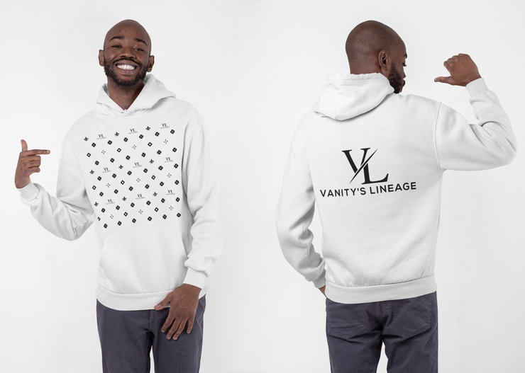 MEN VANITY INSANE WHITE HOODIE