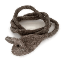 Load image into Gallery viewer, wool mouse cat toy