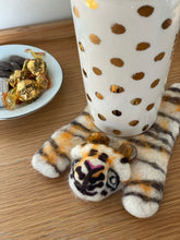 Load image into Gallery viewer, Needle Felt Wool Coaster - Tiger