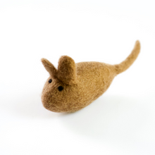 Load image into Gallery viewer, MOUSE Wool Cat Toy | Kitten Toy
