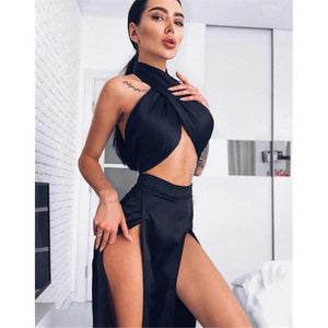 Satin Silk Sexy 2 Piece