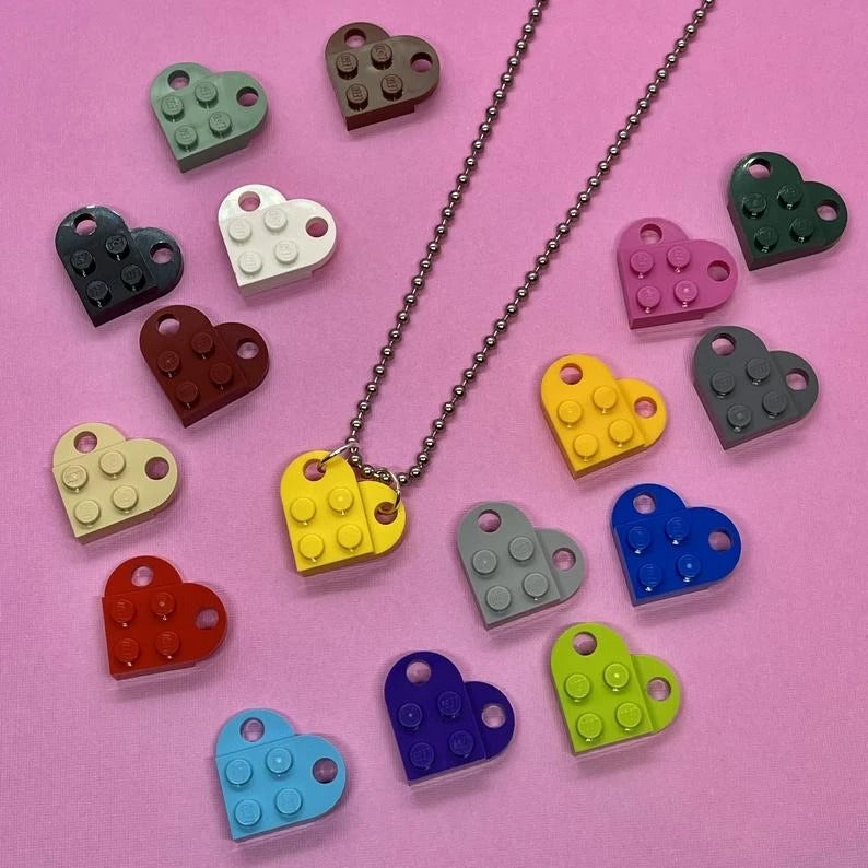 The Brick Heart Necklace
