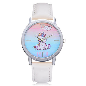 Blue Pink Unicorn Watch